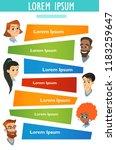 vector medicine brochure cards .... | Shutterstock .eps vector #1183259647