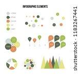 infographic elements  report... | Shutterstock .eps vector #1183267441