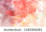 brushed painted abstract... | Shutterstock . vector #1183306081