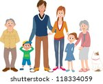 family | Shutterstock .eps vector #118334059