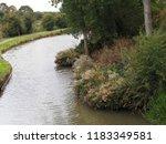 grand union canal man made... | Shutterstock . vector #1183349581