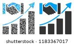 acquisition growth collage of...   Shutterstock .eps vector #1183367017