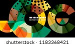 abstract colorful background... | Shutterstock .eps vector #1183368421