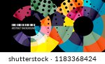 abstract colorful background... | Shutterstock .eps vector #1183368424