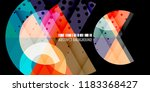 abstract colorful background... | Shutterstock .eps vector #1183368427