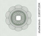 green rosette  money style... | Shutterstock .eps vector #1183371334
