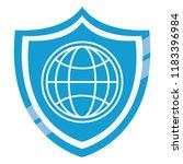 global sphere symbol | Shutterstock .eps vector #1183396984