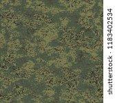 digital flora. camouflage... | Shutterstock .eps vector #1183402534