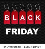black friday sale background... | Shutterstock .eps vector #1183418494
