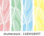 leaf  the composition leaf that ... | Shutterstock .eps vector #1183418557