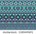 navajo american indian pattern... | Shutterstock .eps vector #1183449691