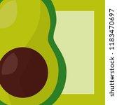 vegetables fresh natural | Shutterstock .eps vector #1183470697