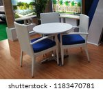 synthetics coffee table set   Shutterstock . vector #1183470781