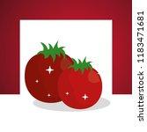 vegetables fresh natural | Shutterstock .eps vector #1183471681