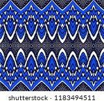 geometric folklore ornament.... | Shutterstock .eps vector #1183494511