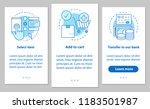 online shopping onboarding... | Shutterstock .eps vector #1183501987