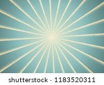 dotwork sun rays card or poster ... | Shutterstock .eps vector #1183520311