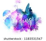 inspirational modern... | Shutterstock .eps vector #1183531567