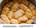 stuffed cabbage rolls   sarma | Shutterstock . vector #1183544977