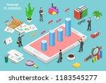 isometric flat vector concept... | Shutterstock .eps vector #1183545277