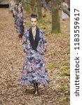 paris  france   march 06  a... | Shutterstock . vector #1183559617
