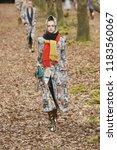 paris  france   march 06  a... | Shutterstock . vector #1183560067