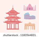 china and italy  germany and... | Shutterstock .eps vector #1183564831