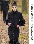 paris  france   march 06  a... | Shutterstock . vector #1183565851