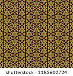 decorative seamless vector... | Shutterstock .eps vector #1183602724