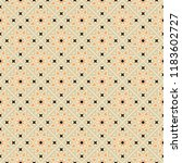 decorative seamless vector... | Shutterstock .eps vector #1183602727