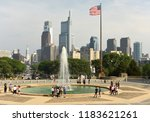 philadelphia  usa   may 29 ... | Shutterstock . vector #1183621261