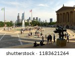 philadelphia  usa   may 29 ... | Shutterstock . vector #1183621264