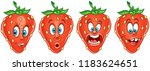 strawberry. fruit food concept. ... | Shutterstock .eps vector #1183624651