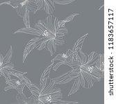 seamless floral pattern.... | Shutterstock .eps vector #1183657117
