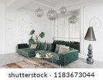 morning in luxurious light... | Shutterstock . vector #1183673044
