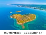 heart shaped island of... | Shutterstock . vector #1183688467