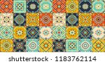 talavera pattern.  indian... | Shutterstock .eps vector #1183762114
