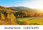 mountain autumn landscape with... | Shutterstock . vector #118376395
