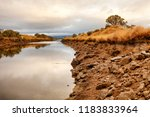early morning view of waterway... | Shutterstock . vector #1183833964