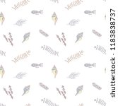 seamless vector pattern with... | Shutterstock .eps vector #1183838737