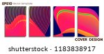 creative colored cover. cover... | Shutterstock .eps vector #1183838917