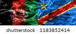 afghanistan vs democratic... | Shutterstock . vector #1183852414