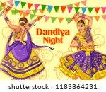 vector design of indian woman... | Shutterstock .eps vector #1183864231