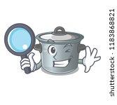 detective cartoon cookware... | Shutterstock .eps vector #1183868821