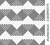 vector seamless pattern.... | Shutterstock .eps vector #1183890574