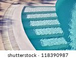 Underwater Swimming Pool Stairs