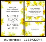 invitation greeting card with... | Shutterstock . vector #1183922044