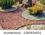 landscape decorative in the yard | Shutterstock . vector #1183926031