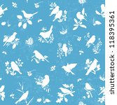 seamless pattern background... | Shutterstock .eps vector #118395361