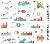 graphics and diagrams for... | Shutterstock .eps vector #1183959754